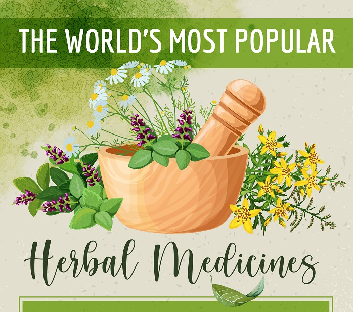 The World's Most Popular Herbal Medicines