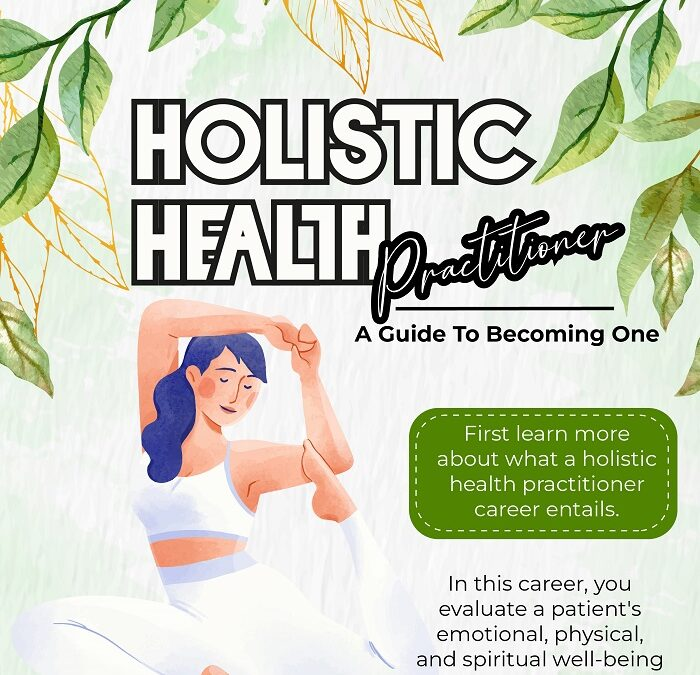 A Guide to Becoming A Holistic Health Practitioner – An Infographic
